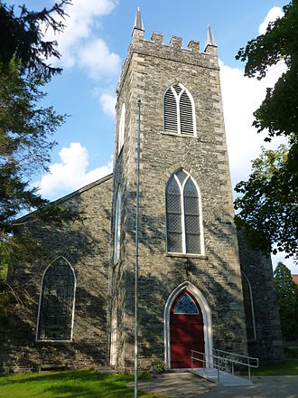 Lowell, Massachusetts - Saint Anne's Episcopal Church, built 1824