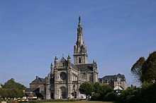 Basilique Sainte-Anne d'Auray.