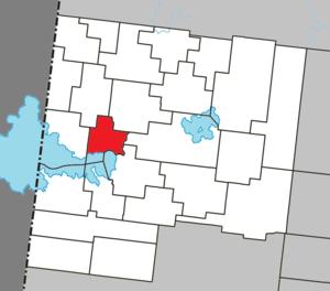 Sainte-Hélène-de-Mancebourg, Quebec - Image: Sainte Hélène de Mancebourg Quebec location diagram