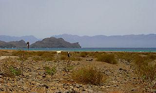 Salamansa Settlement in São Vicente, Cape Verde
