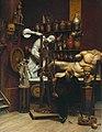 Samuel Butler (1835-1902) - Mr Heatherley's Holiday, An Incident in Studio Life - N02761 - National Gallery.jpg