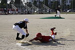 Samurai slash through Bulldogs, fence off against Devils 130419-M-BZ918-067.jpg
