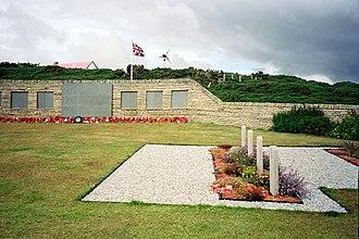 Blue Beach Military Cemetery at San Carlos - Image: San Carlos Cemetery