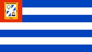 San Salvador Department - Image: San Salvador Flag