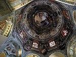San vitale, ravenna, int., cupola, affreschi del 1780.JPG