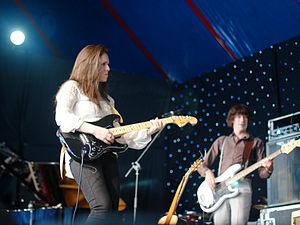Sandi Thom - Thom performing live during her 2011 tour