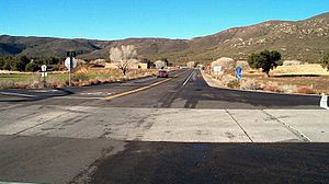 California County Routes in zone S - Buckman Springs Rd. and Old Highway 80