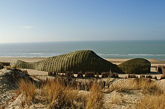 Environmental philosophy - Marco Casagrande Sandworm, Beaufort04 Triennial of Contemporary Art, Wenduine, Belgium 2012