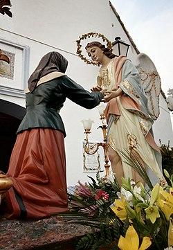 Santo Ángel y abuela Liñana - Romería segundo Lunes de Enero 01.jpeg