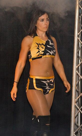 Sara Del Rey - Del Rey appearing for Chikara in 2012