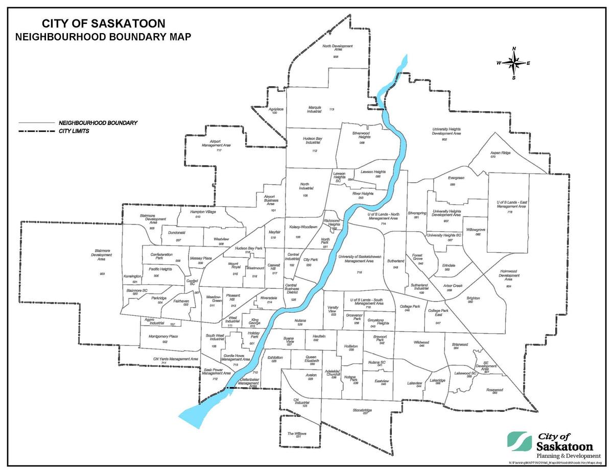 List of neighbourhoods in Saskatoon - Wikipedia