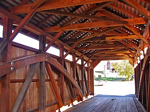 Saville Covered Bridge - Image: Saville Bridge 3