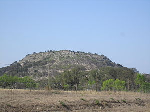 Camp Wood, Texas - Scenic view from Texas State Highway 55 south of Camp Wood