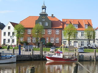 Tönning Place in Schleswig-Holstein, Germany