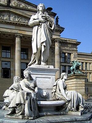 Schiller Monument (Berlin) - Schiller monument on Berlin's Gendarmenmarkt