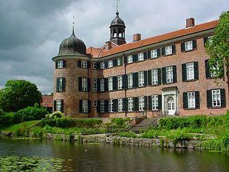 Eutin Castle - The garden facade of the south wing