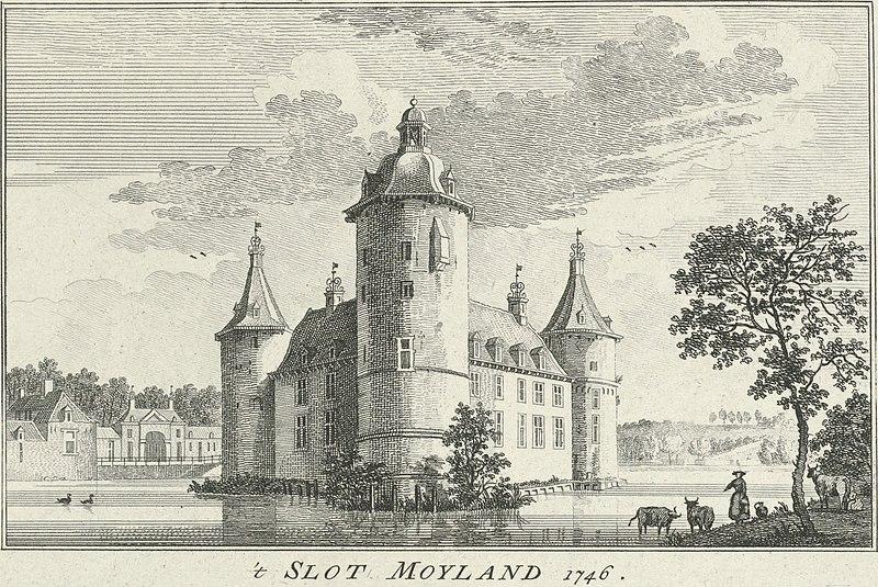 Moyland in 1746