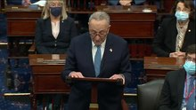 Fil:Schumer speech following Capitol protests.ogv