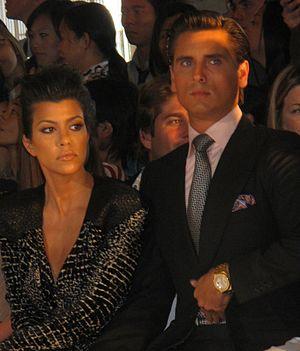 Kourtney Kardashian - Kardashian and Scott Disick in 2010