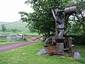 Sculpture at Upper Chatto - geograph.org.uk - 192342.jpg