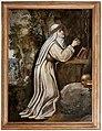 Scuola di cristofano allori, santa caterina da siena prega il crocifisso, 1610-15 ca.jpg