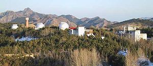 Beijing Schmidt CCD Asteroid Program - SCAP was conducted at BAO's Xinglong Station, China, in the 1990s.