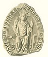 Seal of Bishop Bengt Gregoriusson of Finland.jpg