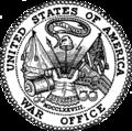 Selo do departamento de War.png Estados Unidos