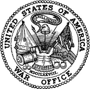 Morris E. Crain - Image: Seal of the United States Department of War