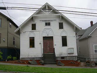 Atlantic, Seattle - Antioch Missionary Baptist Church, 1445 S Main St