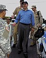 Secetary of the Navy Donald Winter tours Guantanamo.jpg