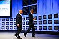 Secretary Kerry Walks Off Stage After Concluding Speech to World Economic Forum (12120568385).jpg