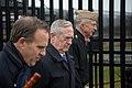 Secretary Mattis visits the Pentagon Memorial (32337562142).jpg