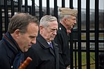 Secretary Mattis visits the Pentagon Memorial (32337562142).jpg