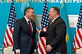 Secretary Pompeo Holds Press Conference With Foreign Minister Tileuberdi (49476368891).jpg