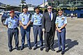 Secretary Pompeo with Malaysia Local Police (29947302298).jpg