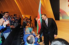 Seeing-off ceremony for Azerbaijani sportsmen to represent the country at the London 2012 Summer Olympic Games 9.jpg