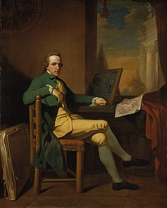David Allan (painter) - Self portrait of David Allan, 1770