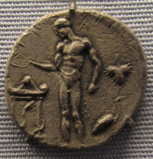 Selinus, didracma,466-415 ac. ca 2