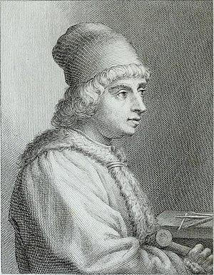 Jacopo della Quercia - Image: Serie degli uomini i più illustri nella pittura, scultura, e architettura con i loro elogi, e ritratti incisi in rame cominciando dalla sua prima restaurazione fino ai tempi presenti (1769) (14594840628)