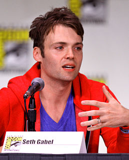 Seth Gabel American actor