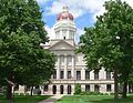 Seward County, Nebraska courthouse from S 1.JPG
