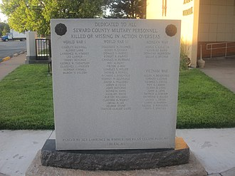 Seward County, Kansas - Seward County Veterans Memorial