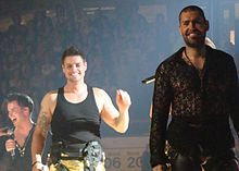 Description de l'image Shane Lynch and Keith Duffy.jpg.