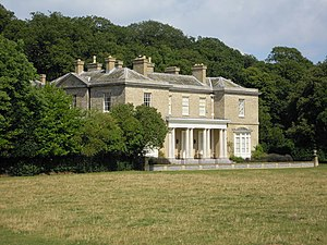 Sheringham Hall - The south elevation