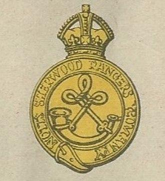Sherwood Rangers Yeomanry - Image: Sherwood Rangers badge