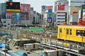 Shibuya Station construction (30568708291).jpg