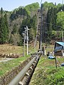 Shikumigawa I power station penstock.jpg