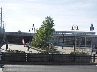 Shin-Kamagaya Station Railway station in Kamagaya, Chiba Prefecture, Japan