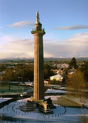Edward Haycock Sr. -  Lord Hill's column, Shrewsbury 1815. Designed by Edward Haycock and modified by Thomas Harrison.